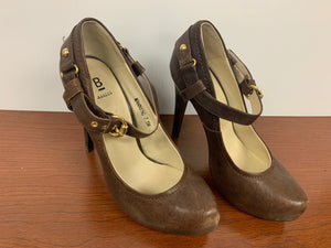 Bakers Brown Manning Leather Heels size 7.5M