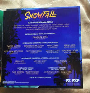 FYC 2019 Snowfall For Your Consideration-FX DVD