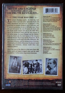 Outlaws and Gunslingers: 5 Part Documentary Series (DVD, 2011)