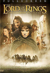 USED-The Lord of the Rings The Fellowship of the Ring (DVD, 2-Disc, Full