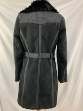 Load image into Gallery viewer, C Luce size M Black Women's Big Button Coat