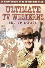 Load image into Gallery viewer, Ultimate TV Westerns - 150 Episodes (DVD, 2008, 12-Disc Set)