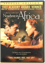 Load image into Gallery viewer, USED: Nowhere in Africa (DVD, 2003, 2 disc) Special Edition  2002 Academ