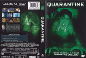 Quarantine (DVD, 2009) Jennifer Carpenter & Jay Hernandez