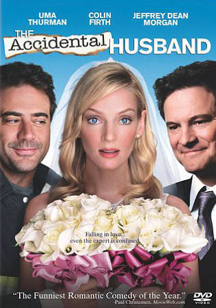 ACCIDENTAL HUSBAND (DVD 2009) Marriage Comedy Colin Firth, Uma Thurma