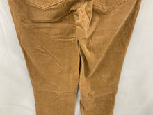 Load image into Gallery viewer, Talbots Women sz 4L Tan Corduroy Heritage 4 Pocket Pant Cotton Stretch Jeans