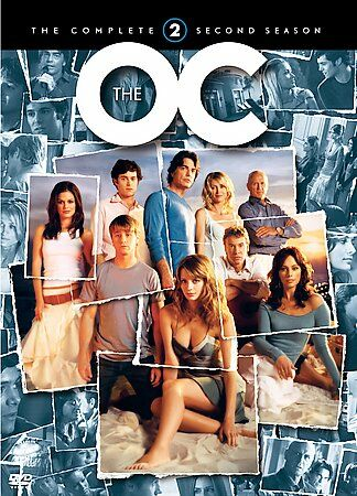 USED-USED-The OC Season 3 The Complete 2 Second Season  (DVD 2006 7-Disc)