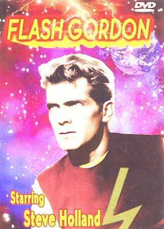 USED- FLASH GORDON, Starring Steve Holland (DVD, Black & White 2004)