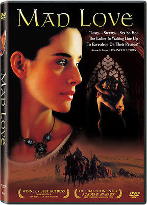 Mad Love (DVD, 2003) Pilar Lopez De Ayala  Language: Spanish  Subtitles: