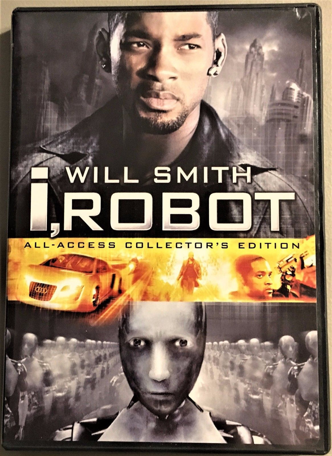 I, Robot-All Access Collectors Edition (DVD, 2005, 2-Disc Set-Wiesc