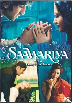 Saawariya (DVD, 2008 in slip cover)  Language: Hindi Subtitles: English,