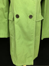 Load image into Gallery viewer, Michael Kors Size small Spring Green Trench Coat Jacket