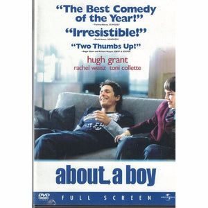 About a Boy (DVD, 2002, Fullscreen) Hugh Grant