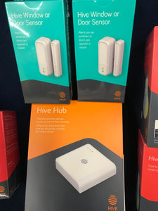 The hive hub smart home starter kit