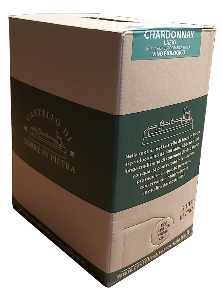 Bag in Box (5LT) - Chardonnay IGT Lazio Bio