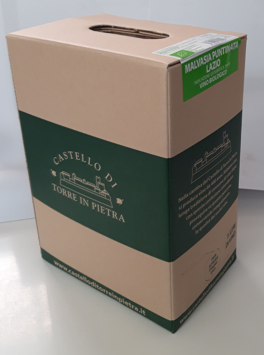 Bag in Box (5l) - Malvasia Puntinata IGT Lazio Bio
