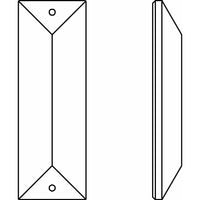 8290/8322 Two Hole Rectangle