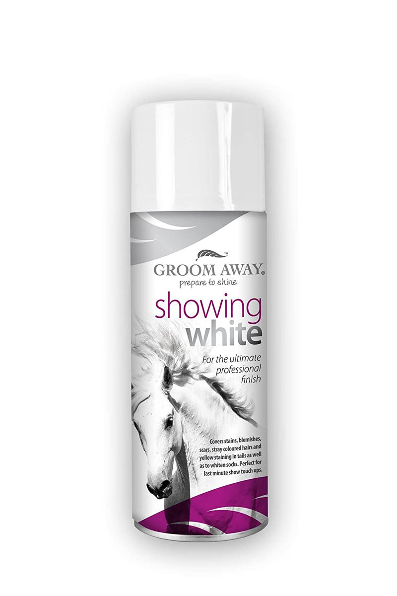 Groomaway Showing White 400ml - Hoofprints Innovations