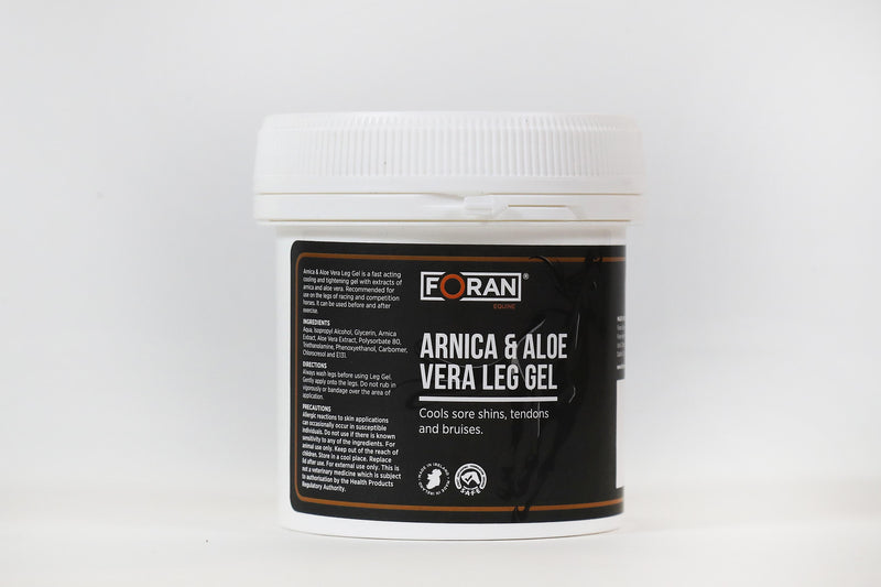 Foran Equine Arnica & Aloe Vera Leg Gel 2.5kg - Hoofprints Innovations