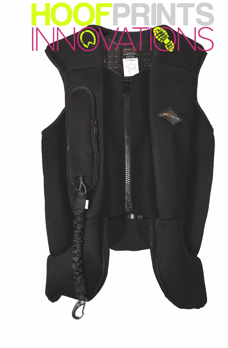 Aerowear AyrPS Black Version (Combined; Airshell & AirMesh 2 Body Protector) - Hoofprints Innovations