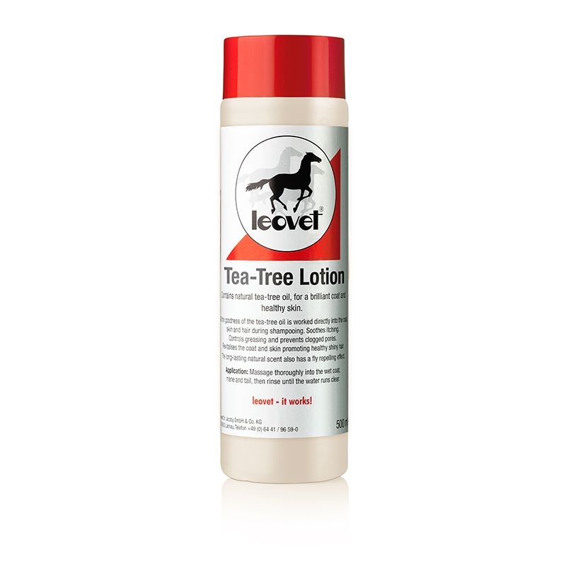 Leovet Tea Tree Grooming Lotion 500ml - Hoofprints Innovations
