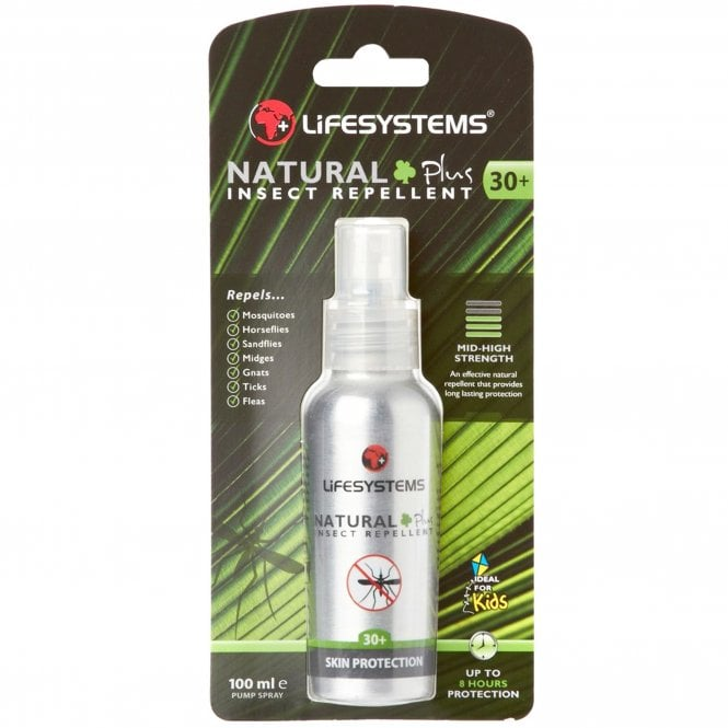 Lifesystems Natural Plus 30+ Spray 100ml (6420) - Hoofprints Innovations