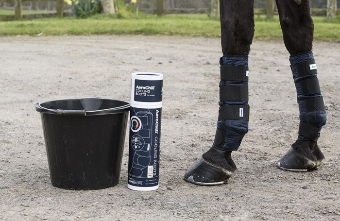 Aerochill cooling boots - Hoofprints Innovations