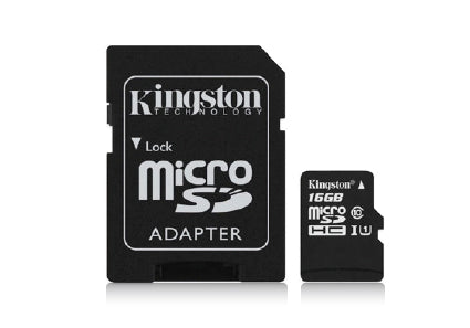 Sunnycam Sport Memory Card 16GB MicroSD+Adapt - Hoofprints Innovations
