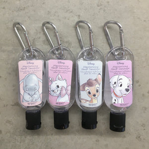 Hand Sanitizer with Backpack Clip - Disney