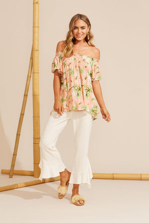 Haven Sardinia Off Shoulder Top