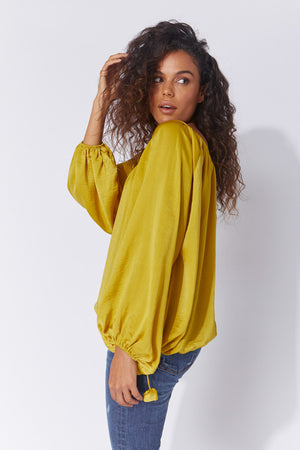 Haven Tropea Oversized Top
