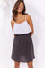 Haven Cuban Skirt Brown