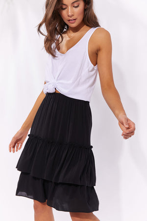Haven Havana Skirt Black
