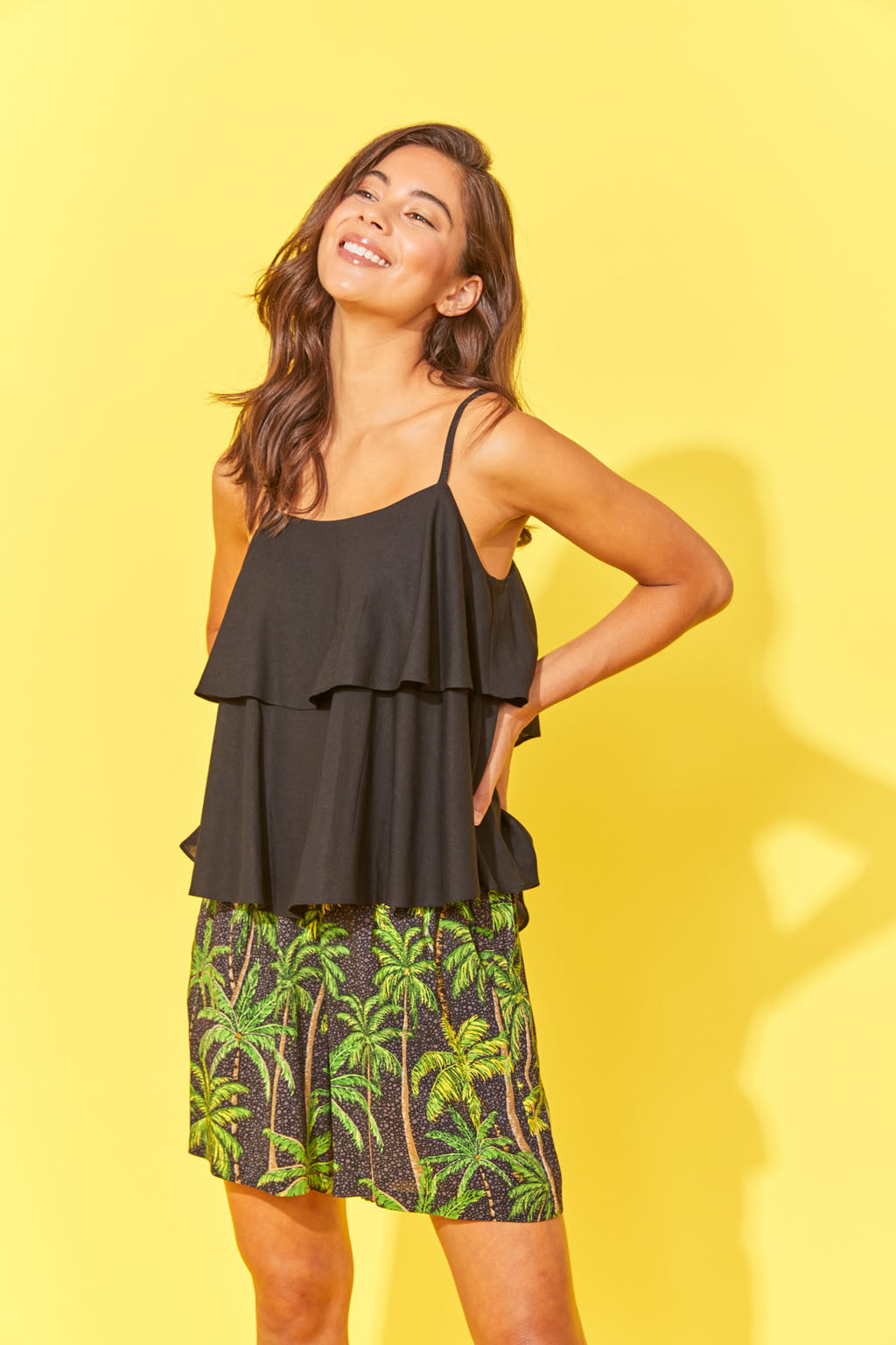 Haven Paradise Top Black