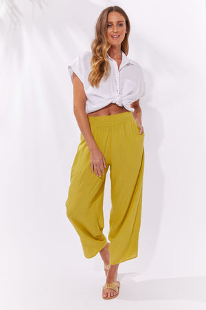 Haven Paradise Pants Lime