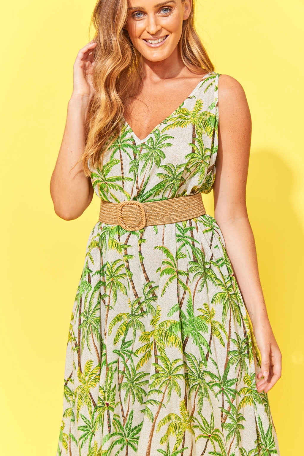 Haven Paradise Maxi Lime Palm