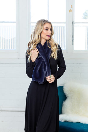 Libertine Faux Fur Scarf/Wrap