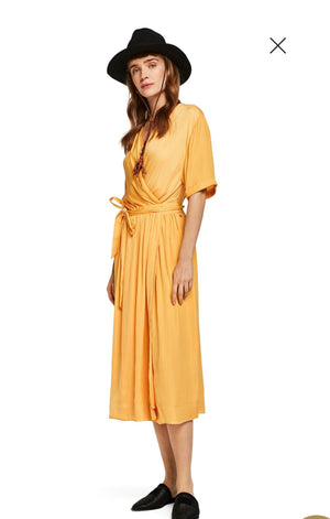 S&S Wrapover Dress - Mango
