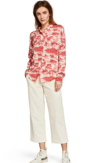 S&S Relaxed Fit Tropical Island Shirt - Cotton & Viscose