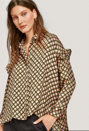 S&S Boxy Fit Printed Shirt