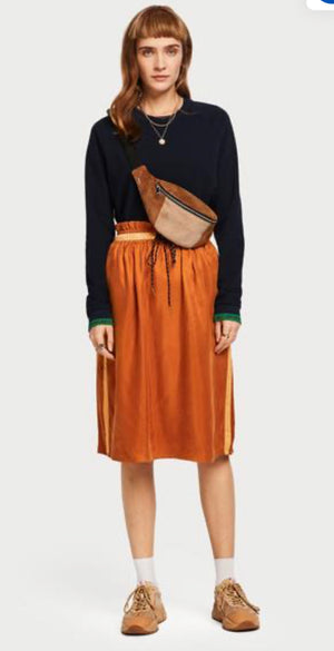 S&S Paper-bag Waist Skirt
