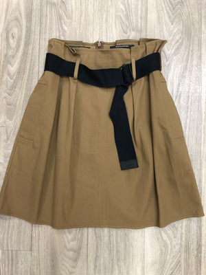 Scotch & Soda High Waisted Paperbag Skirt