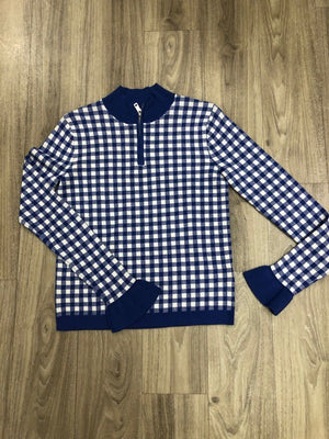 S&S Fitted Pullover w Zip