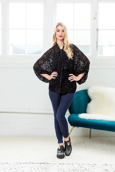 Libertine Jaguar Luxe Blouse