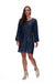 Augustine Celebration Dress - Navy