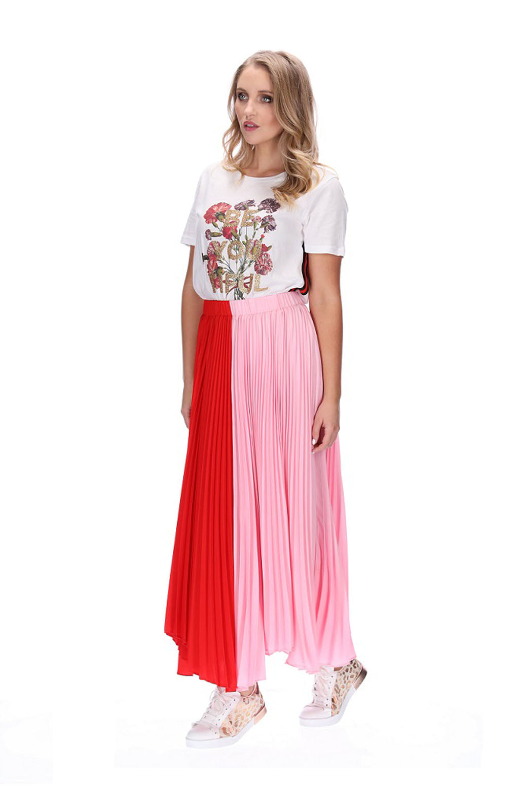 Augustine Alexa Pleated Skirt