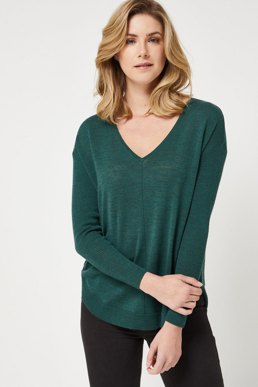 Toorallie V-Neck Jumper