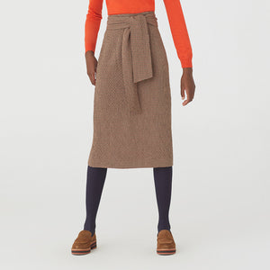 Nice Things Check Midi Skirt