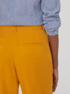 Nice Things Gold Tencel Pants