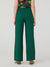 Nice Things Linen Blend Pants - Green